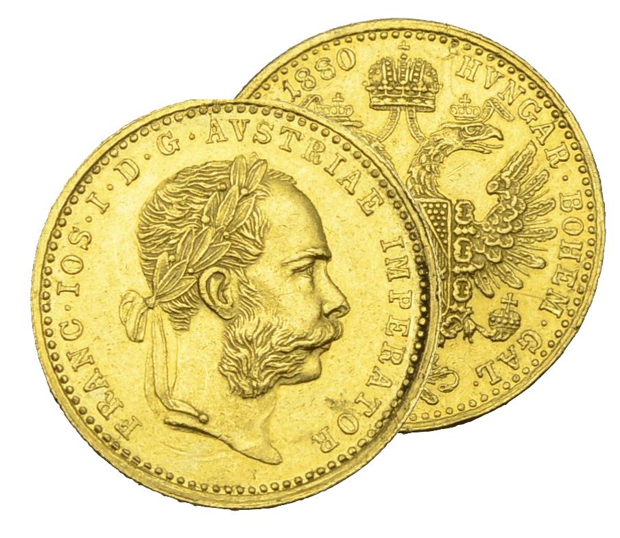 Dukat 1880 Münzhandlung Prager